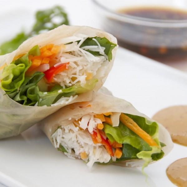 rolls vegetariano